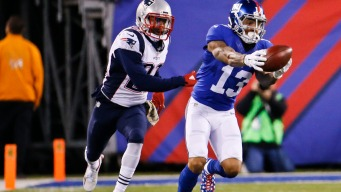 Giants Lose to Pats in Season's Best Game to Date