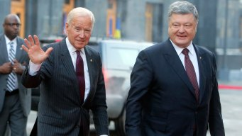 Biden in Ukraine: Trump Should Keep Sanctions on Russia
