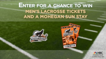 New England Black Wolves Ticket & Overnight Stay Giveaway