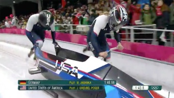Jamie Greubel Poser Sled in Medal Contention After Run 3