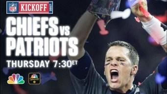 WATCH LIVE TONIGHT: Patriots-Chiefs Season Opener