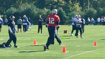 Brady's Back! Pats QB Returns to Practice