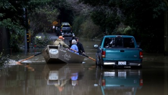 Storm Water Floods California Town, Turns It Into 'Island'
