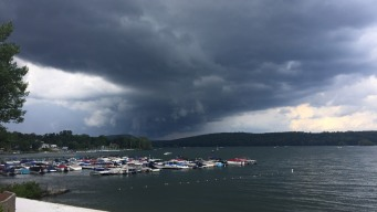 Strong Storms Move Through Connecticut