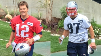 THEY'RE BACK! Brady, Gronk Arrive for Pats Minicamp