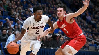 UConn Bounces Back From Loss With 91-74 Win Over Cornell