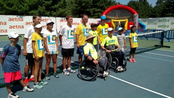 Disabled Athletes Showcase Wheelchair Tennis Skills at Connecticut Open