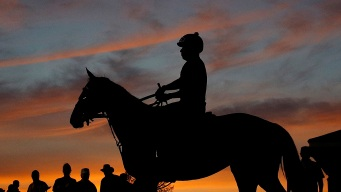Early Morning Is Busy Time at Churchill Downs