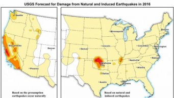 Human Induced Earthquakes Across US Raise Chances of Damaging Tremors