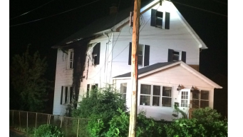 Two Area Crews Battle House Fire in East Hartford