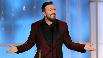 Golden Globes: Gervais' Best Hollywood Jokes