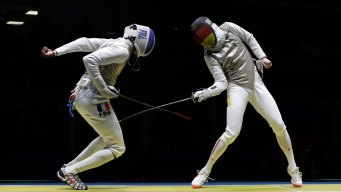 French Fencer Loses Cellphone During Match