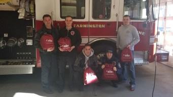 Farmington Fire Department Receives Oxygen Masks for Pets