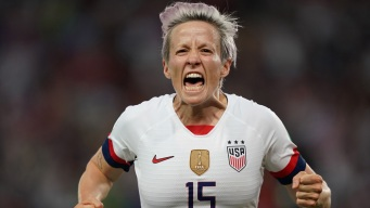 Rapinoe Scores Twice as U.S. Beats France, 2-1