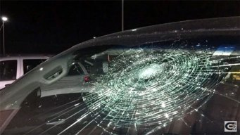 Minor Leaguer Smashes Own Windshield With Grand Slam