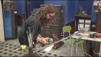 Metal Work Attracts More Female Students