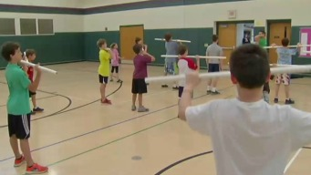 Granby Students Get Fit in the Morning