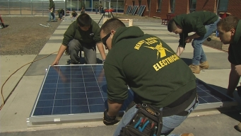 Henry Abbott Tech Wins Green Contest
