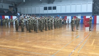 CT Army National Guard Holds Send-Off Ceremony