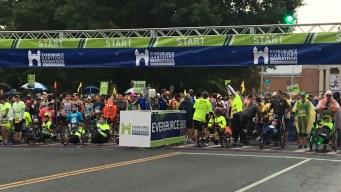 Thousands Participate in 25th Running of Hartford Marathon