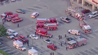 9 Hurt, Gunman Dead Outside Houston Strip Mall