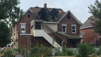 Crews Put Out Second-Alarm Fire in Hartford