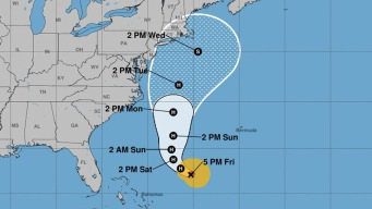 Jose Now a Hurricane; Connecticut Remains in Possible Path