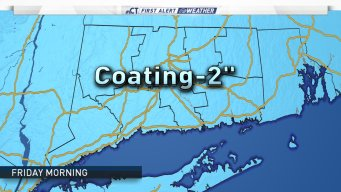 First Alert: Wintry Weather Expected Friday & Sunday