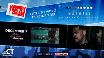 Maxwell VIP Ticket Sweepstakes