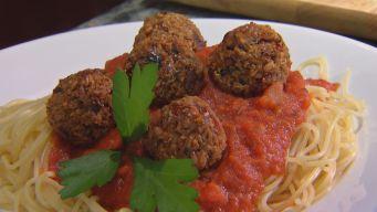 Heidi's Meatless Meatballs