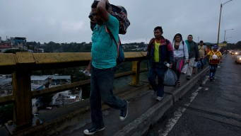 Mexico Says First Caravan Migrants Have Arrived at Border