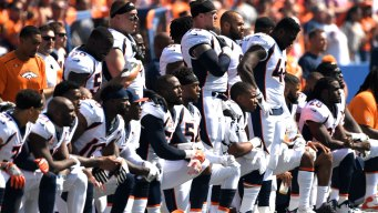 Trump's NFL Criticisms Spark Protests From About 200 Players