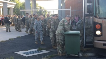 40 Members of CT National Guard Deploy to Afghanistan