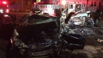 4 Injured in Serious Crash in Norwalk