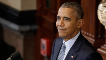 Obama Back in Ill. on Anniversary of Presidential Announcement