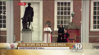Watch: Pope Francis' Remarks on Immigration in Philadelphia