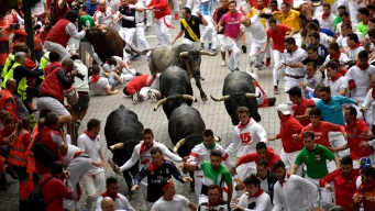 13 Injured, Including 2 Americans, in Running of the Bulls