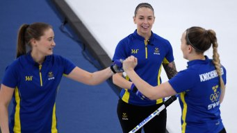 Sweden Tops Korea's 'Garlic Girls' for Curling Gold