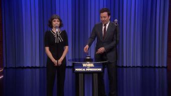 'Tonight': Wheel of Musical Impressions With Melissa Villasenor