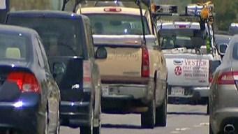 Crash Backs Up I-84 in West Hartford