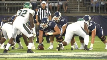 UConn Opens Season With 24-21 Win Over Wagner