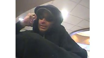 Suspect Robs United Bank in Colchester