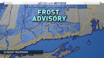 Frost Advisory Issued for Saturday Night