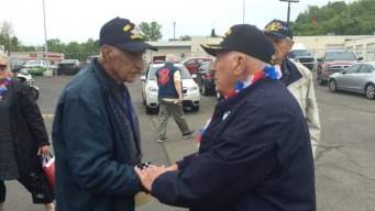 Iwo Jima Survivors Honored