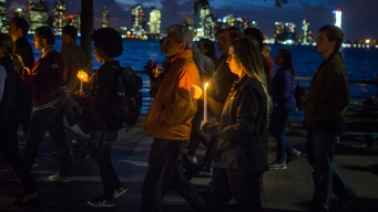 8 Killed in NYC Bike Path Attack Remembered at Vigil, March