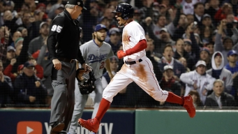 Red Sox Beat Dodgers 8-4 in World Series Opener at Fenway