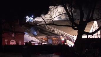 1 Man Transported to Hospital After East Windsor Fire