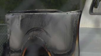 Fire Damages Cars at Franklin Auction Facility