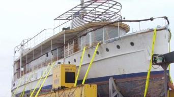 Former Presidential Yacht Harbors in New London