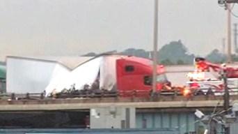 Crash Caused I-95 Backups in West Haven